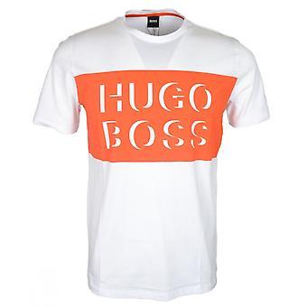 Hugo Boss Tiburt 162 Regular Fit Weißes T-shirt