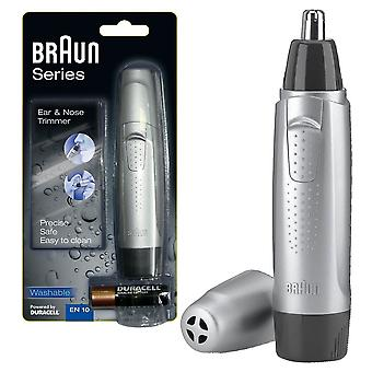 Braun EN10 Battery Powered Grooming Ear & Nasal Hair Trimmer Shaver