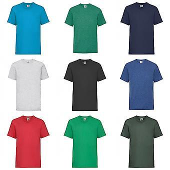Fruits du métier à tisser pour enfants/Kids unisexe Valueweight Short Sleeve T-Shirt (Pack de 2)