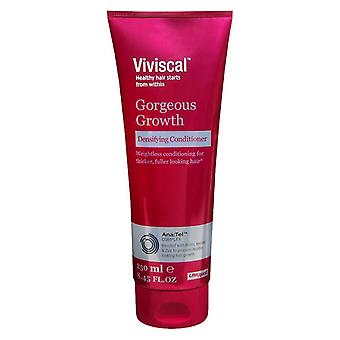 Viviscal gorgeous growth, densifying conditioner, 8.5 oz