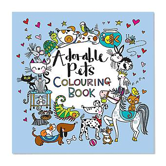 Pets Colouring Book