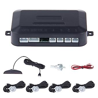 Radar de estacionamento com rangefinder e display LED
