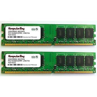 Komputerbay KB_4GBAM2_2x2GB800_185 - 4 GB (2 x 2 GB) és 240 tűs AM2 PC2 6400/PC2 6300 800 MHz-es memóriamodul