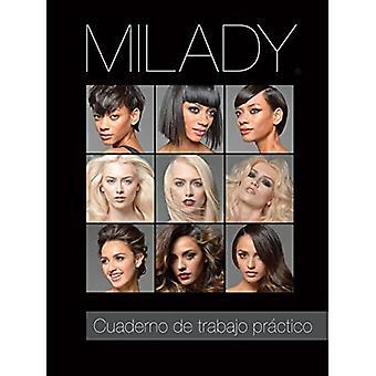 Cartella di lavoro pratico tradotto spagnolo per Milady Standard Cosmetologia