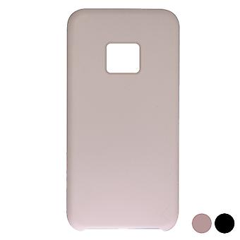 Coperchio mobile Huawei Mate 20 Pro KSIX Soft Silicone/Pink