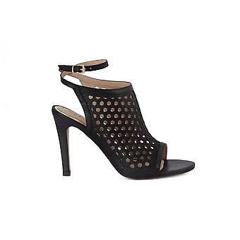 CafeNoir Sabot Laserato MA807NERO universal summer women shoes