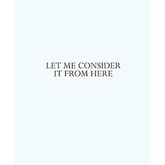Let me consider it from here by Solveig Ovstebo - 9780941548762 Book