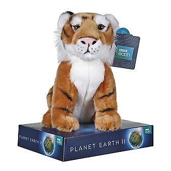BBC Earth Plush Tiger 25cm
