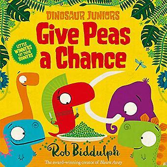 Give Peas a Chance (Dinosaur Juniors - Libro 2) di Rob Biddulph - 9780