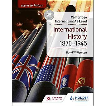 Tilgang til historie for Cambridge International AS Nivå - Internasjonalt