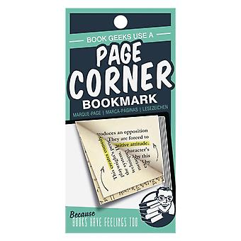 Page Corners Book Geeks Green