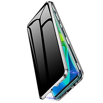 Mobiles Gehäuse mit doppelseitigem gehärtetem Glas - XiaoMi F1 - Silber