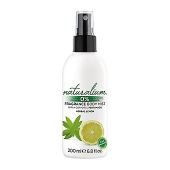 Body Mist Herbal Lemon Naturalium (200 ml)