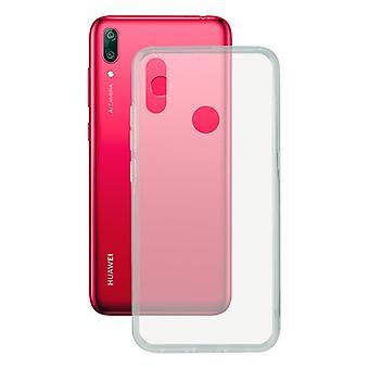 Mobile kansi Huawei Y7 2019 Yhteystiedot Flex TPU läpinäkyvä