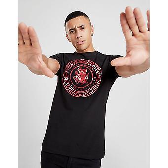 New Supply & Demand Men's Snake Eye T-Shirt Black