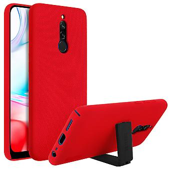 Hard Stand Case voor Xiaomi Redmi 8 / 8A- Super Frosted Shield- Nillkin, Rood