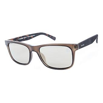 Męskie okulary przeciwsłoneczne Timberland TB9141-5597R Brown (55 Mm)