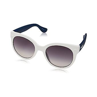 Havaianas Noronha/M White Blue Frame Ladies Sunglasses - Blue and white