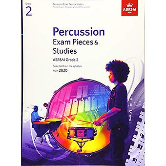 Percussion Exam Pieces & Studies - ABRSM Grade 2 - Selected from t