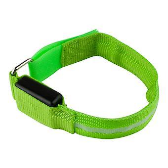 Armband mit LED hellgrün