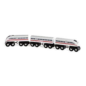 BRIO høyhastighets tog 33748 tre jernbanen toget med lyd