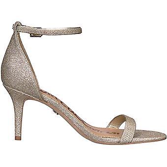 Sam Edelman Womens PATTI Fabric Open Toe Special Occasion Ankle Strap Sandals