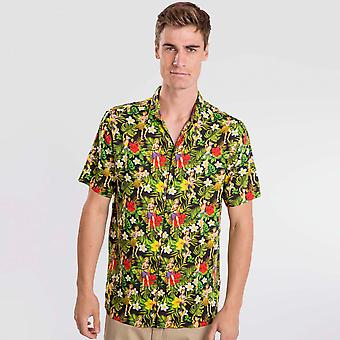 Camisa Hula Preta