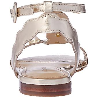 Marc Fisher Womens Elana Leather Open Toe Casual Ankle Strap Sandals