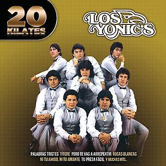 Los Yonic's - 20 Kilates [CD] USA import