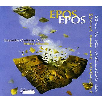 Ensemble Cantilena Antiqua - Epos: Music of the Carolingian Era [CD] USA import