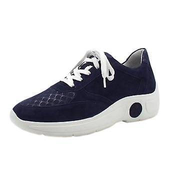 Peter Kaiser Viana Lace Up Sneakers In Notte Suede