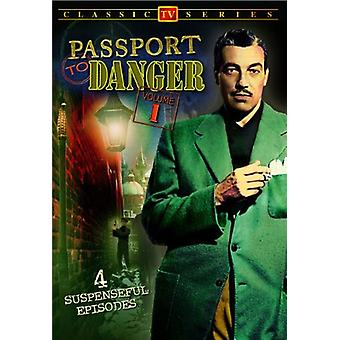 Passport to Danger [DVD] USA import