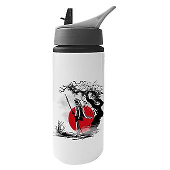 Princess Mononoke Forest Protector Sumie Aluminium Water Bottle With Straw