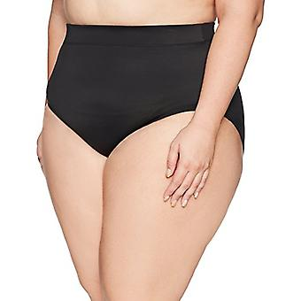Brand - Coastal Blue Women's Plus Size Control Swimwear Bikini Bottom,...