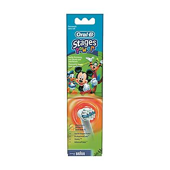 oral-b kids replacement heads, 2 None