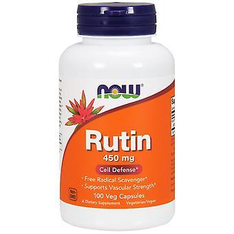 Maintenant Aliments, Rutin, 450 mg, 100 capsules de légumes