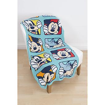Mickey Mouse Play Fleece Blanket