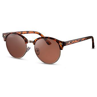 النظارات الشمسية المرأة بانتو اللهب / براون (CWI542)