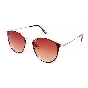 Sonnenbrille Unisex    braun/gold (18-109)
