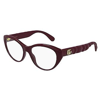 Gucci GG0812O 003 Burgundy Glasses