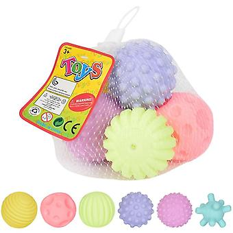 Infant Training Massage Soft Rubber Textured Multi Sensory Baby Touch Hand Ball Toy