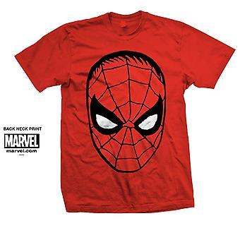 Marvel Comics Spider-Man Big Head Official Tee T-Shirt Unisex