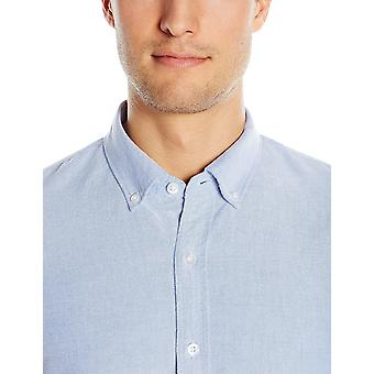 """Goodthreads Men's """"The Perfect Oxford Shirt"""" Slim-Fit Long-Sleeve Solid, Indigo, X-Large"""