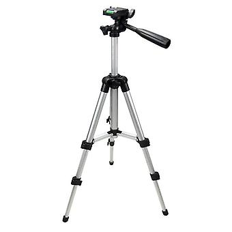 4 Sections Lightweight Portable Tripod For Camera (sliver)