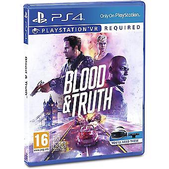 Sangue e verità per Playstation VR PS4 Gioco (Nordic Box - EFIGS In Game)