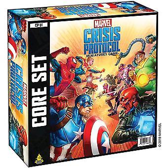 Set di base del protocollo Marvel Crisis