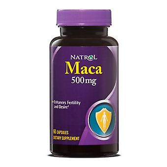 Natrol Maca Root, 500 MG, 60 Caps