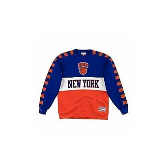 Mitchell & Ness New York Knicks FCNKDF18025NYKROYA universal all year men sweatshirts