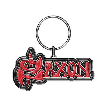 Saxon Keyring keychain Classic Band Logo new Official