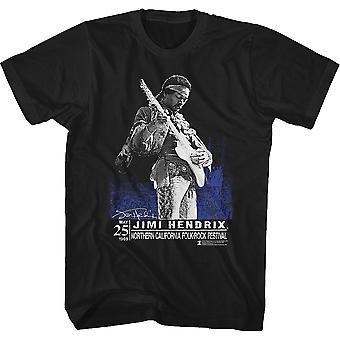 Folk-Rock Festival Jimi Hendrix T-Shirt